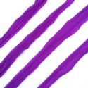 Single colour dyed nylon, Dark purple, Stretched Size per piece 1.5m x 15cm, 4 pieces, [SWW0806]